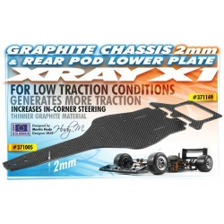 X1 CHASSIS - 2.0MM GRAPHITE