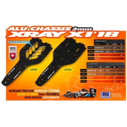 X1'18 ALU CHASSIS 2.0MM -...
