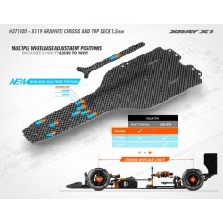 X1'19 GRAPHITE CHASSIS &...
