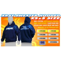 XRAY SWEATER HOODED - BLUE...