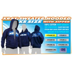XRAY SWEATER HOODED WITH...