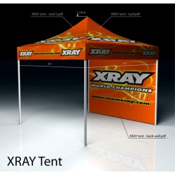 XRAY TENT BACK WALL BANNER