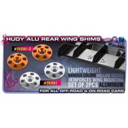 HUDY ALU REAR WING SHIM -...