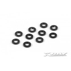 ALU SHIM 3x6x1.0MM - BLACK...