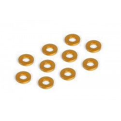 ALU SHIM 3x6x1.0MM - ORANGE...