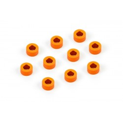 ALU SHIM 3x6x3.0MM - ORANGE...