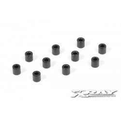 ALU SHIM 3x6x6.0MM - BLACK...