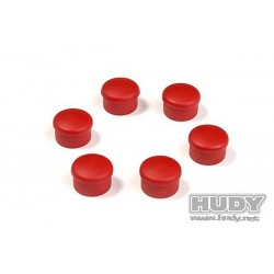 CAP FOR 22MM HANDLE - RED (6)