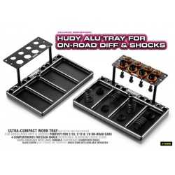 HUDY ALU TRAY FOR ON-ROAD...