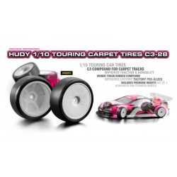 HUDY 1/10 TC CARPET TIRES...