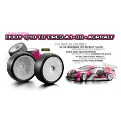 HUDY 1/10 TC TIRES A1-36 -...
