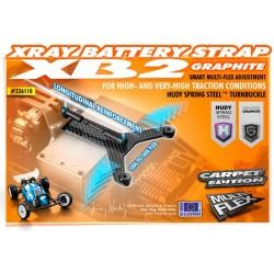 GRAPHITE BATTERY STRAP