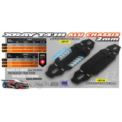 T4'18 ALU CHASSIS 2.0MM -...